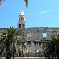 Diocletian's Palace is an ancient Roman palace in Split, Croatia